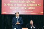 [Photo] Thủ tướng làm việc với Hội nạn nhân chất độc da cam Việt Nam
