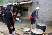 [Photo] Thanh Hóa: Người Dao ở huyện Cẩm Thủy vui đón Tết năm cùng