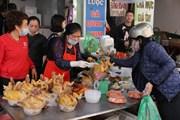 [Photo] Hà Nội: Chợ truyền thống 30 Tết Nguyên đán Tân Sửu 2021