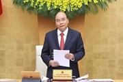 [Photo] Thủ tướng chủ trì phiên họp Chính phủ thường kỳ tháng 2