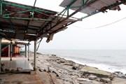 [Photo] Nam Định: Kè biển sạt lở gần nửa năm chưa được khắc phục