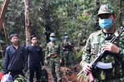 [Photo] Bộ đội biên phòng Quảng Nam siết chặt chống dịch nơi vùng biên