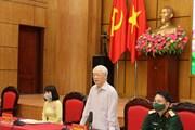 Tổng Bí thư dự Hội nghị tiếp xúc cử tri Đơn vị bầu cử số 1 của Hà Nội