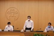 Thường trực Thành ủy Hà Nội họp trực tuyến về tăng phòng, chống dịch