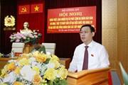 Chủ tịch Quốc hội dự hội nghị bảo đảm an ninh, trật tự cho Ngày bầu cử