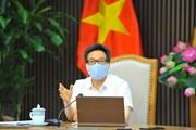 PTT Vũ Đức Đam chủ trì họp triển khai biện pháp chống dịch ở điểm nóng