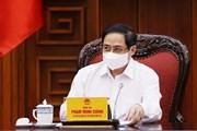 Thủ tướng Phạm Minh Chính chủ trì họp triển khai phòng chống dịch