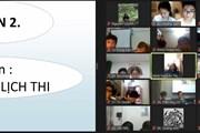 [Photo] Học sinh Hà Nội lần đầu đăng ký trực tuyến dự thi vào lớp 10