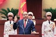 [Photo] Ông Nguyễn Xuân Phúc nhậm chức Chủ tịch nước
