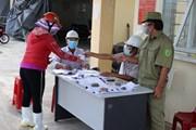 [Photo] Phú Yên siết chặt phòng chống dịch đảm bảo an toàn tại cảng cá