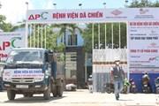 [Photo] TP.HCM: Xây dựng 2 bệnh viện dã chiến quy mô gần 6.000 giường