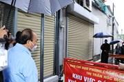 Chủ tịch nước kiểm tra công tác phòng, chống dịch tại Hóc Môn, Củ Chi
