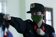Nữ cảnh sát đầu tiên tham gia lực lượng trấn áp tội phạm của Thủ đô