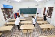 [Photo] Lạng Sơn: Học sinh tựu trường sớm nhất vào ngày 1/9