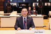 Chủ tịch QH dự Lễ khai mạc hội nghị các Chủ tịch Quốc hội
