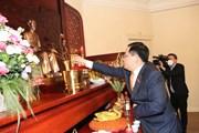 Chủ tịch QH dự khánh thành Phòng tưởng niệm Chủ tịch Hồ Chí Minh ở Bỉ