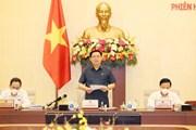 Chủ tịch Quốc hội chủ trì Phiên họp thứ 3 Ủy ban Thường vụ Quốc hội