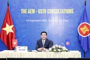 Hội nghị Tham vấn Bộ trưởng Kinh tế ASEAN, Đại diện Thương mại Hoa Kỳ