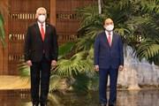 [Photo] Chủ tịch nước Nguyễn Xuân Phúc thăm chính thức Cuba