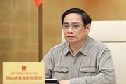 [Photo] Thủ tướng chủ trì họp Ban chỉ đạo Quốc gia phòng, chống dịch