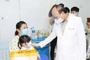 Chủ tịch nước thăm và tặng quà cho các bệnh nhi tại BV Nhi đồng TP.HCM