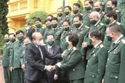 Chủ tịch nước gặp mặt đoàn đại biểu doanh nhân là cựu chiến binh