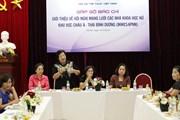 Đại biểu 17 quốc gia dự hội nghị mạng lưới các nhà khoa học nữ