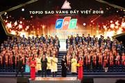 6 năm liên tiếp FPT đứng trong danh sách Top 10 Sao Vàng đất Việt