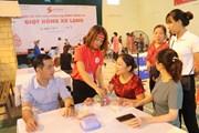 Ngày hội hiến máu Giọt hồng xứ Lạng thu về 1.000 đơn vị máu