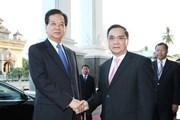 Việt Nam-Lào nhất trí tiếp tục phối hợp triển khai dự án chiến lược
