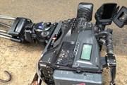 Hội Nhà báo đề nghị xử lý nghiêm vụ phá hỏng máy quay của phóng viên