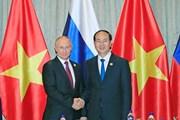 Việt Nam ưu tiên củng cố quan hệ Đối tác chiến lược toàn diện với Nga
