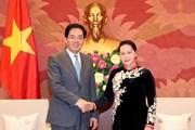 Chủ tịch Quốc hội tiếp Đại sứ Trung Quốc đến chào từ biệt