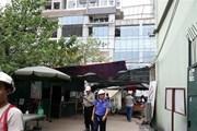 Hà Nội: Không có hiện tượng nghiêng lún nhà cao tầng do động đất
