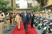 Đại tướng Trần Đại Quang - vị Tư lệnh gần gũi với lực lượng Công an