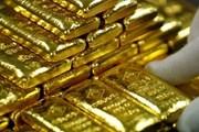 Giá vàng thế giới tăng nhẹ nhờ sự suy yếu của đồng USD