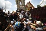 Thái Lan: Sập tháp chuông cổ làm 12 công nhân thương vong