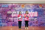 100 trẻ em gái đối thoại với lãnh đạo về an toàn nơi công cộng