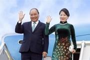 Thủ tướng lên đường dự Hội nghị Hợp tác Mekong-Nhật Bản lần thứ 10