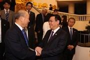 Hợp tác hữu nghị Việt-Nhật phát triển tốt đẹp trên mọi lĩnh vực