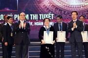 Biểu dương, vinh danh 10 công dân Thủ đô ưu tú năm 2018