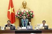Ủy ban Thường vụ Quốc hội cho ý kiến về cơ cấu lại nền kinh tế
