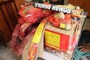 Phá vụ vận chuyển trái phép hơn 300kg pháo từ Trung Quốc vào Việt Nam