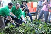 TP.HCM phát động người dân không bỏ rác ra đường và kênh rạch