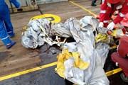 Những hình ảnh đầu tiên về chiếc máy bay rơi tại Indonesia