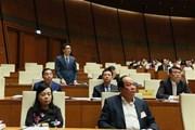 Họp Quốc hội: Chất vấn các thành viên Chính phủ về nhiều vấn đề nóng