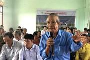 Họp khẩn giải quyết việc dân phản đối dự án điện Mặt Trời đầm Trà Ổ