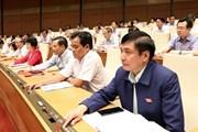 Thông qua Nghị quyết phân bổ ngân sách trung ương năm 2019