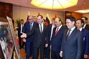 Hình ảnh các hoạt động của Thủ tướng Nga Medvedev thăm Việt Nam