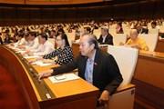 Quốc hội thông qua Luật Đặc xá sửa đổi với hơn 90% số phiếu tán thành